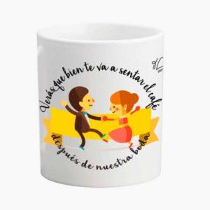 veras que bien te va a sentar el café después de nuestra boda