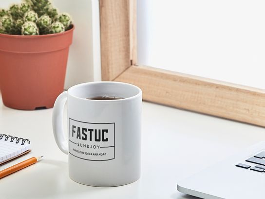 taza de cerámica básica personalizada